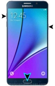 samsung galaxy note 5 duos Reset