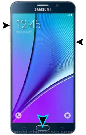 How to Hard/Factory Reset Samsung Galaxy Note 5 Duos