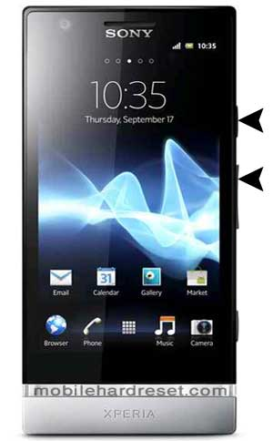 How to Hard Reset / Factory Reset Sony Xperia P LT22I