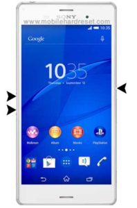 sony xperia z3 compact reset