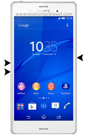 How to Hard Reset Sony Xperia Z3 Compact Cell Phone