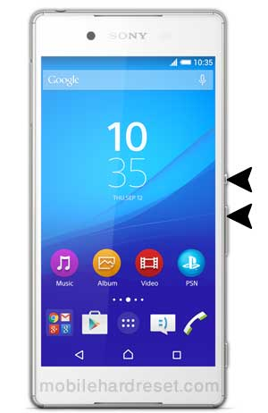 How to Hard Reset Sony Xperia Z3 with Factory Reset