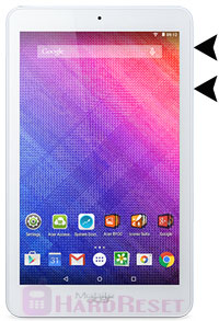 Acer Iconia One 8 B1-820 hard reset