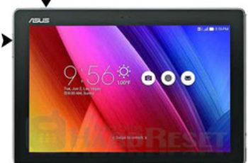 Asus ZenPad 10 Z300C Hard REset