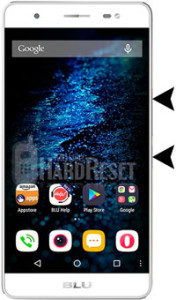 BLU Energy X hard reset