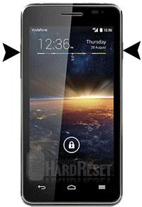 Vodafone Smart 4 Turbo hard reset