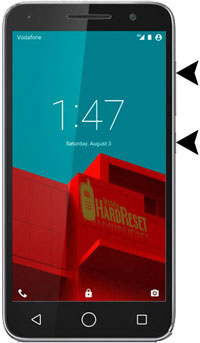 Vodafone Smart Prime 6 hard reset