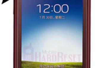 Samsung Galaxy Folder hard reset