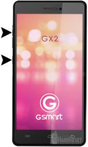 Gigabyte GSmart GX2 hard reset