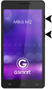 How to Hard Reset Gigabyte GSmart Mika M2