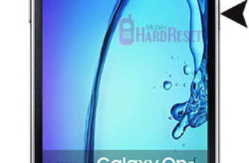 Samsung Galaxy On5 hard reset