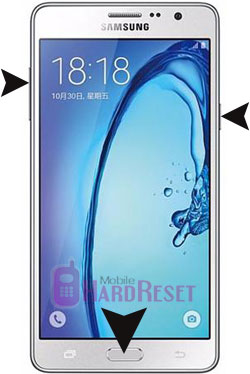 Samsung Galaxy On7 hard reset