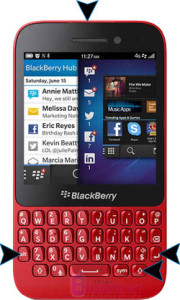 BlackBerry Q5 hard reset