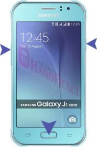 Samsung Galaxy J1 Ace hard reset
