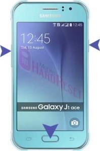 Samsung Galaxy J1 Ace hard reset
