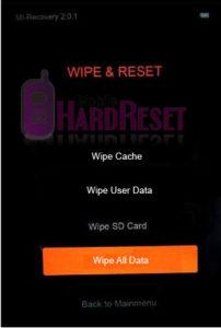 Xiaomi Mi 6 hard reset