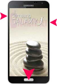Samsung Galaxy J hard reset