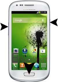 Samsung I8200 Galaxy S III mini VE hard reset