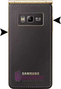 Samsung I9230 Galaxy Golden hard reset