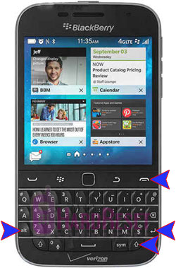 How to Hard Reset BlackBerry Classic Non Camera