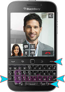 BlackBerry Classic hard reset