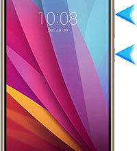Huawei Honor 5X hard reset