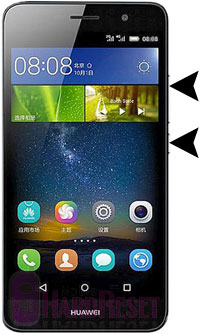 Huawei Honor Holly 2 Plus hard reset