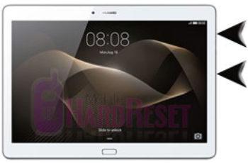Huawei MediaPad M2 10 hard reset