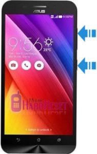 Asus Zenfone Max ZC550KL (2016) hard reset