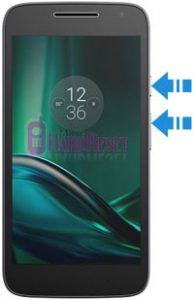 Motorola Moto G4 Play hard reset
