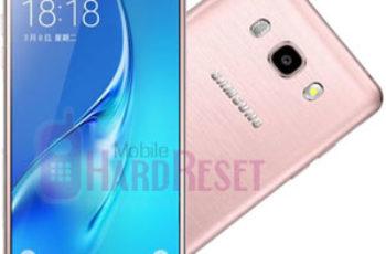 Samsung-Galaxy-J5-(2016) hard reset