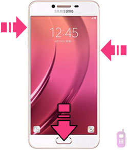 Samsung Galaxy C7 hard reset