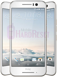 HTC One S9 hard reset