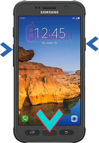 Samsung Galaxy S7 active hard reset