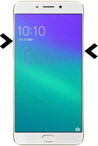 how to hard reset Oppo R9 Plus