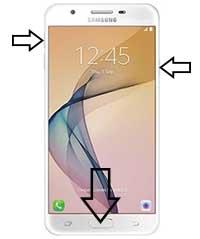 Samsung Galaxy J5 Prime hard reset