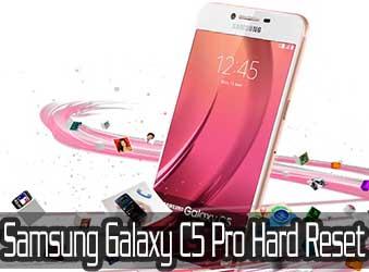 Samsung Galaxy C5 Pro hard reset