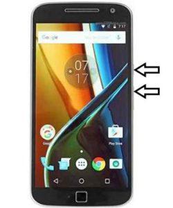 Motorola Moto G5 hard reset