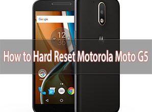 Photo of How to Hard Reset Motorola Moto G5 Smartphone