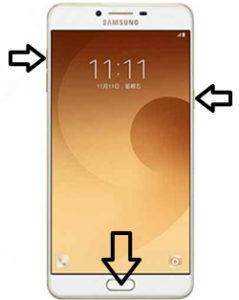 Samsung Galaxy C9 Pro hard reset