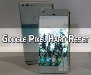 How to Hard Reset Google Pixel Smartphone
