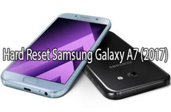 Samsung Galaxy A7 (2017) hard reset
