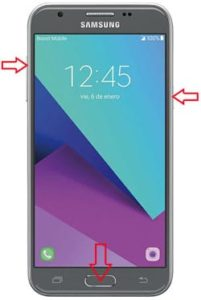 Samsung Galaxy J3 Emerge hard reset