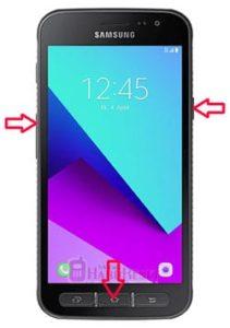 Samsung Galaxy Xcover 4 hard reset