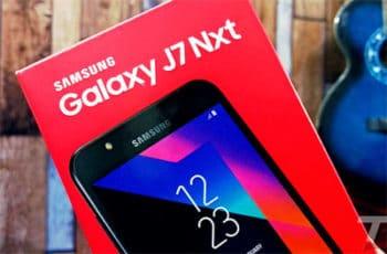 Samsung Galaxy J7 Nxt hard reset