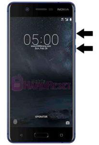 how to hard reset Nokia 5