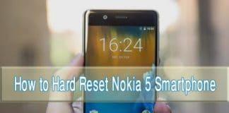 nokia-5 hard reset