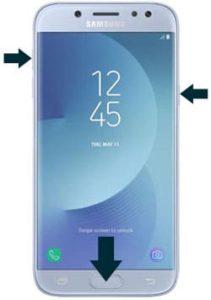 Samsung Galaxy J5 (2017) hard reset