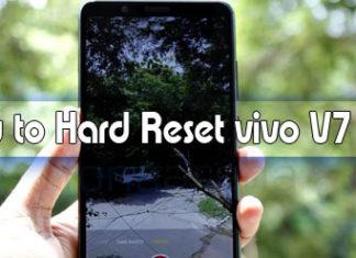 how to hard reset vivo v7 plus