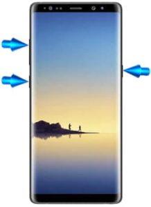 Samsung Galaxy Note8 hard reset